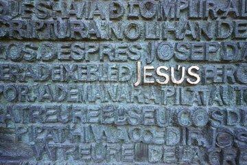 Schriftzug Jesus