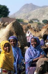 Wood Market in Keren  Eritrea