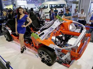 PHILIPPINES-PASAY CITY-MANILA INTERNATIONAL AUTO SHOW