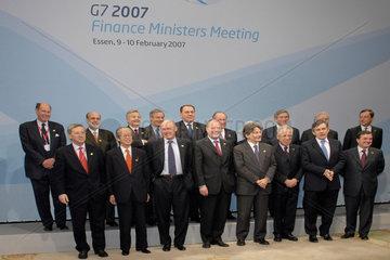 G7 Finanzminister und Notenbankgouverneure