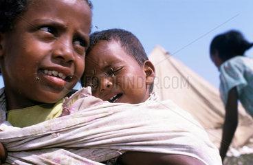 Refugee Camp  War Eritrea - Ethiopia