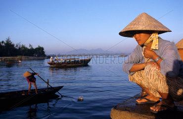 Vietnam  morning market