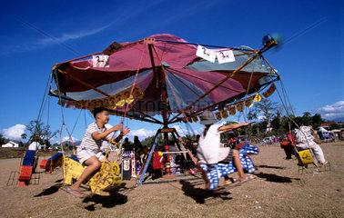Laos  fair at Luang Prabang