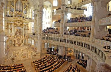 Frauenkirche Innenansicht