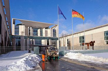 Bundeskanzleramt in Winter