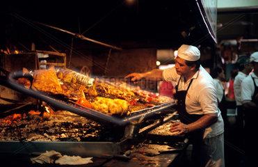 Parrilla  Mercado del Puerto  Montevideo  Uruguay