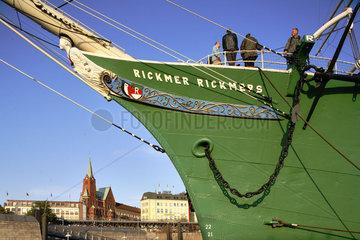 Hamburg  Museumsschiff Rickmer Rickmers