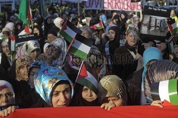Demonstration gegen Gaza-Blockade