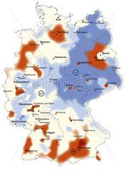 Bevoelkerungsentwicklung in Deutschland von 2002 bis 2007