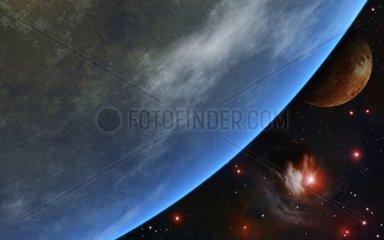 Erdaehnlicher Planet