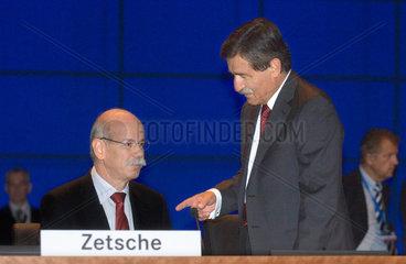 Zetsche und Bischoff  Hauptversammlung DaimlerChrysler AG