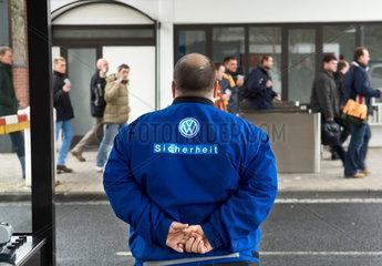 Werkschutz  Volkswagen AG Wolfsburg