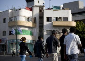 Immigrants from Eritrea in Tel Aviv