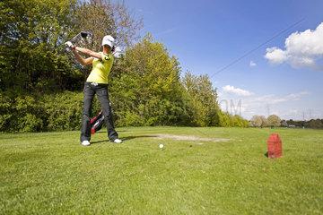 Freizeitsport Golfen