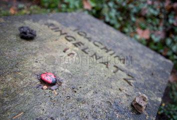 Grab Joachim Ringelnatz  Waldfriedhof Heerstrasse