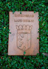 Ehrengrab Waldfriedhof Heerstrasse