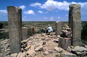 Archaeological site of Cohaito  Eritrea