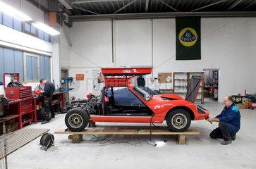Die DDR-Sportwagenschmiede Melkus produziert wieder und hat die ersten 25 Autos gebaut. Im Januar kommen sie auf den Markt