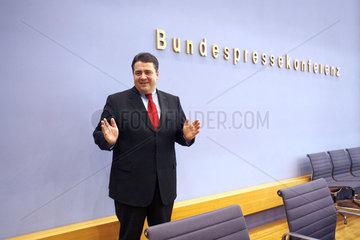 Bundesumweltminister Sigmar Gabriel
