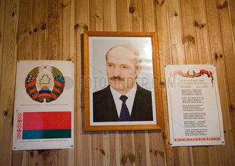 Portrait Alexander Lukashenko  Belarus