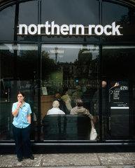 Northern Rock banking crisis  England