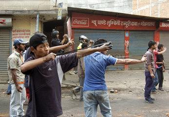 Unruhen in Nepal