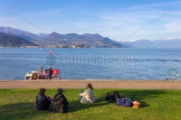 Italy  Piedmont  Stresa  Lago Maggiore