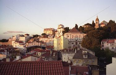 Panorama ueber Alfama