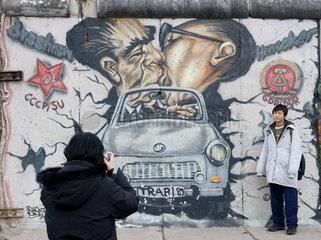 Berlin Wall  East Side Gallery