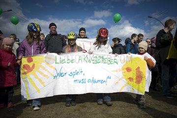 Demonstration fuer den Atomausstieg
