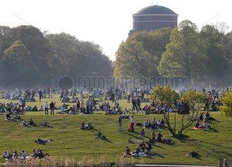Sommertag im Stadtpark  Hamburg