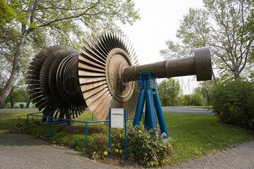 KKW Grafenrheinfeld  Niederdruck-Turbinen Laeufer