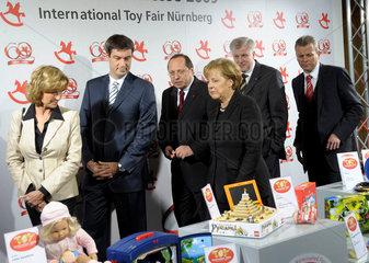 Eroeffnung der Spielwarenmesse  Nuernberg