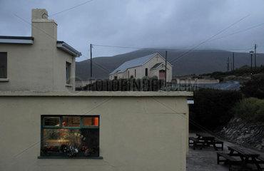 Einziger Pub in Dooega (Achill Island  Irland)