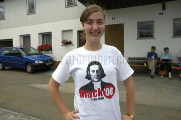 offizielles T-Shirt 300 Jahre Church of Brethren