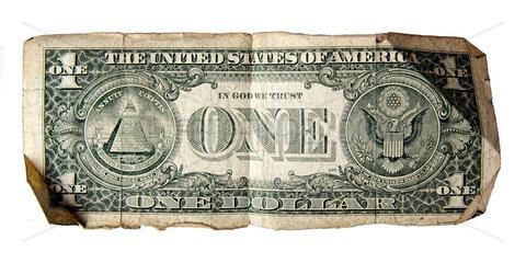 alter ein Dollarschein