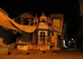 Hindu-Tempel in Bundi  Rajasthan  Indien