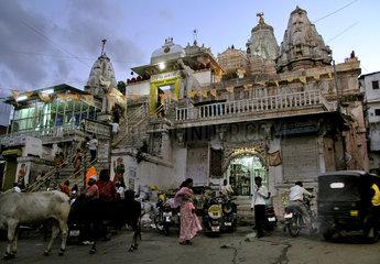 Jagdish Temple  Udaipur  Indien