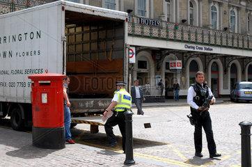 Polizei in London