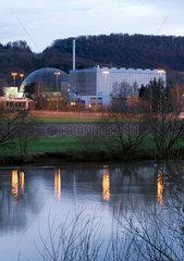 abgeschaltetes Kernkraftwerk Obrigheim