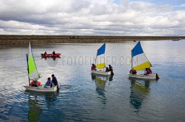 Segelschule in Dun Laoghaire  Irland