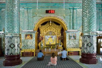 Myanmar  Mandalay  Sagaing hill paya