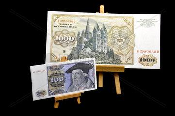 Die gute alte Deutsche Mark DM