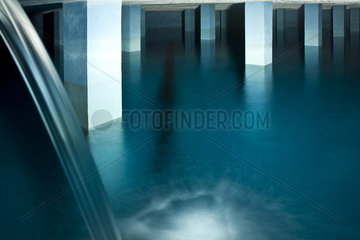 unterirdischer Wasserspeicher