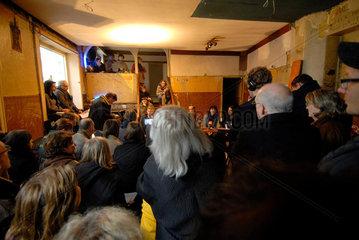 Pressekonferenz im Gaengeviertel