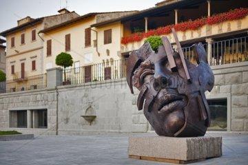 Fiesole Piazza Mino   Florenz  Italien  Europa