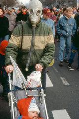 Berlin - Umwelt Demonstration