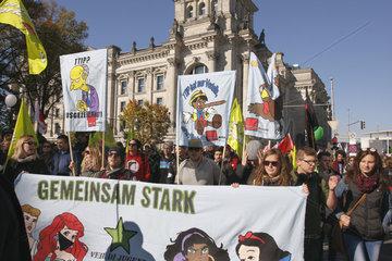 Gemeinsam Stark gegen die TTIP in Berlin