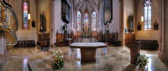 Pfarrkirche St. Stephan in Baden  Niederoesterreich  Oesterreich  Europa