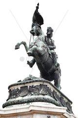 Reiterstandbild Erzherzog Karls am Heldenplatz in Wien  Oesterreich  Europa